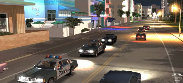 GTA Vice City và bản Mod CryENB Ultra Realistic Graphics 4K (2)
