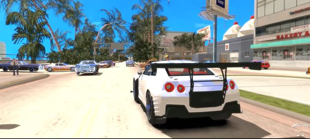 GTA Vice City và bản Mod CryENB Ultra Realistic Graphics 4K (4)